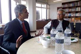 MKCL's meeting with Noble Peace Prize Laureate Professor Muhammad Yunus in Dhaka